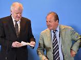 """Seehofer euphorisch: """"Ein einzigartiger Tarifvertrag"""""""