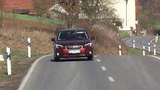 Aufgeräumtes Familienauto: Subaru Impreza punktet mit üppiger Basisausstattung