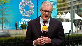 """IWF kritisiert Deutschland und die USA: Kleim: """"Währungsfonds sieht große Risiken"""""""