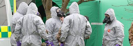Experten warnen vor Nervengift: Salisbury könnte noch kontaminiert sein