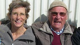 Frauke Luckwaldt mit ihrem Vater Claus Reitmann. Die beiden hatten ein sehr inniges Verhältnis.