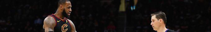 Der Sport-Tag: 11:02 NBA-Playoffs: LeBron James verspielt 17-Punkte-Führung