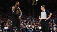 Der Sport-Tag: NBA-Playoffs: LeBron James verspielt 17-Punkte-Führung