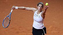 Julia Görges leitete den deutschen Fed-Cup-Fehlstart mit ihrer Auftaktniederlage ein.