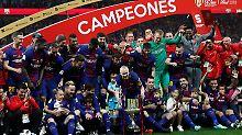 Copa-Finale gegen Sevilla: Barça schnappt sich erneut spanischen Pokal