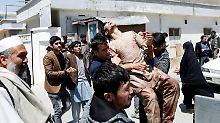 Selbstmordattentat in Kabul: Über 50 Tote bei Anschlag auf Wahlbehörde