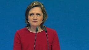 """Lange wirbt für ihre Wahl als SPD-Chefin: """"Ich bin eure Alternative für eine echte Erneuerung"""""""