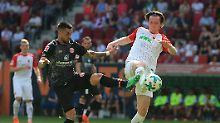 Abstiegskampf in der 1. Liga: Augsburg rettet sich, Mainz zittert weiter