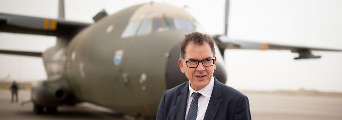 Entwicklungsminister Gerd Müller besucht zurzeit den Irak.