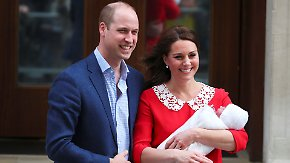 Mutter und Baby wieder zu Hause: Kate und William präsentieren stolz ihren Sohn