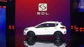 Elektromobilität in China: Volkswagen präsentiert neue Marke Sol in Peking
