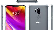 So sieht das LG G7 ThinQ voraussichtlich aus.