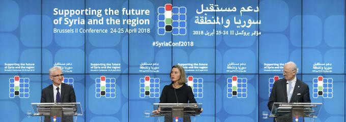 Viel Geld, kein Frieden: Syrienkonferenz überdeckt Hilflosigkeit