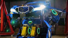 Auto und Roboter: Japaner baut echten Transformer