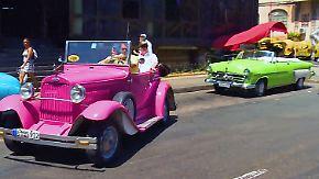 Traumautos vom Klassenfeind: US-Oldtimer prägen das Straßenbild von Havanna