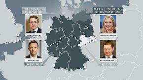 Schwesig, Günther und Co.: Junge Ministerpräsidenten verfolgen ehrgeizige Ziele