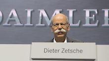Ausblick bestätigt: China und Lkw-Sparte beflügeln Daimler