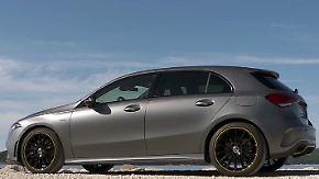 Smartphone auf vier Rädern: Neue Mercedes A-Klasse will mit Technik glänzen