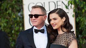 Promi-News des Tages: Daniel Craig bekommt die Lizenz zum Windelwechseln