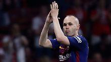 Der Sport-Tag: Abschied unter Tränen - Iniesta verlässt FC Barcelona