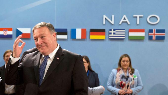 Pompeo will genau wissen, wie es die Nato-Mitglieder mit dem Zwei-Prozent-Ziel halten.