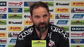 """Köln-Trainer nach endgültigem Abstieg: """"Fans sorgen dafür, dass wir unsere Würde behalten"""""""