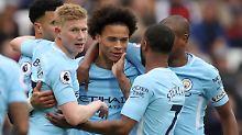 Leroy Sané ist Manchester Citys Liebling - der Nationalspieler ist topfit.