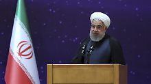 Kategorische Absage an die USA: Ruhani schließt Atom-Neuverhandlungen aus