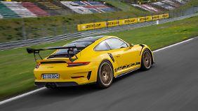 Runde für Runde kann an sich mit dem Porsche GT3 RS an den Grenzbereich herantasten.