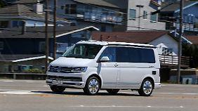 Zu seinem 30. Geburtstag darf der VW California in die USA reisen.