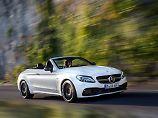 Das Mercedes C-Klasse Cabrio ist der meistverkaufte Sonnenanbeter in Deutschland.
