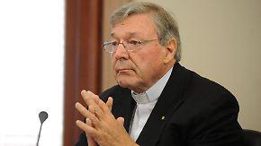 Ex-Vatikan-Finanzchef vor Gericht: Papst-Vertrauter soll Jungen missbraucht haben