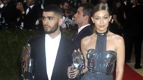 Promi-News des Tages: Gigi Hadid und Zayn Malik knutschen wieder