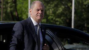 Haushaltsentwurf beschlossen: Scholz will Investitionen zurückfahren