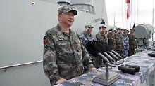 Streit im Südchinesischen Meer: China stationiert Raketen auf strittigen Inseln