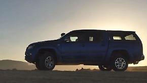 Offroad-Abenteuer im Oman: Volkswagen schickt den Amarok in die Wüste
