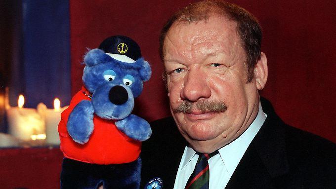 Die Stimme von Käpt'n Blaubär: Wolfgang Völz.