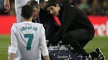 Vier Tore, Überzahl, kein Sieger: Ronaldo verletzt sich im Clásico