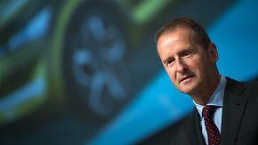 Keine Festnahme wegen Abgasaffäre: VW-Chef Diess handelt Deal mit US-Justiz aus