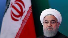Ruhani will zuvor verhandeln: Irans Präsident droht mit Uran-Anreicherung