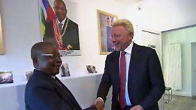 Immunität durch Diplomatenstatus?: Becker wird Botschafter eines bettelarmen Landes