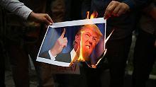 Militärische Eskalation: USA sehen sich in Iran-Politik bestätigt
