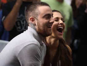 Angeblich kein Paar mehr: Mac Miller und Ariana Grande.