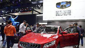 Inspiration aus Europa: Chinesische Autobauer nehmen Weltmarkt ins Visier