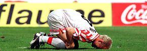 Dann folgte erstmals der schmerzhafte Absturz in die 2. Liga.