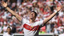 Gomez traf in 16 Spielen acht Mal, der VfB rettete sich früh.
