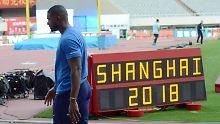 Der Sport-Tag: Sprint-Weltmeister Gatlin blamiert sich in Shanghai