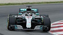 Vettel in Barcelona nur Dritter: Hamilton rast mit Monster-Runde zur Pole