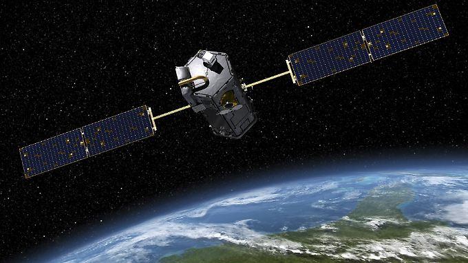 Mit Weltraumsonden wie OCO-2 (hier dargestellt ist der Vorgänger OCO), sammelt die Nasa Klimadaten für Wissenschaftler auf der ganzen Welt.