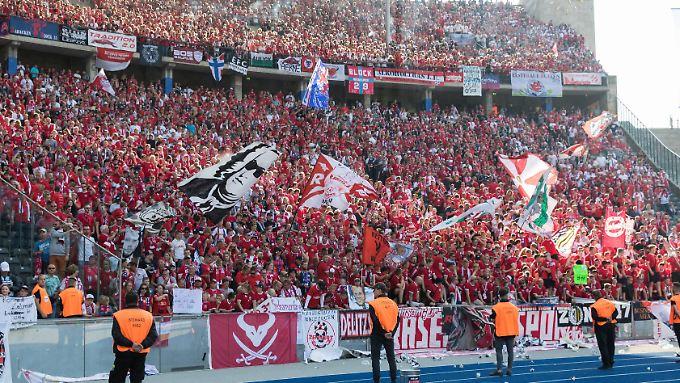 Wie in der Vorsaison erlebten die Leipziger in Berlin eine grandiose Bundesliga-Abschlussparty.